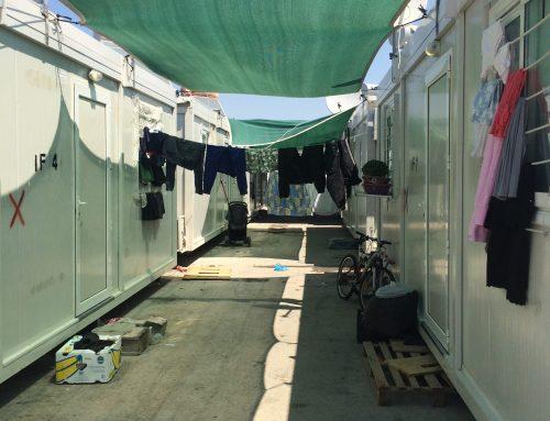Mi experiencia en el campo de refugiados de Skaramagas